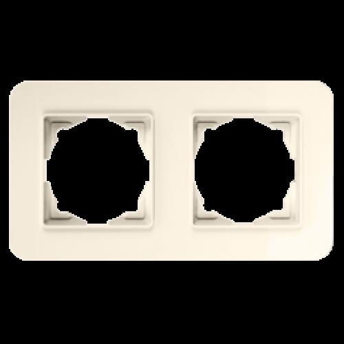 Рамка*2 крем 01371200-000141      ()