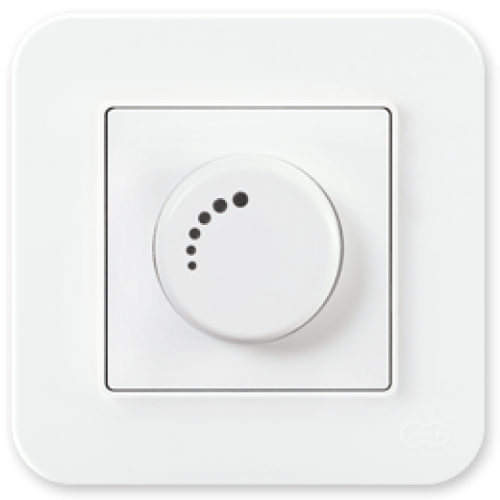 Светорегулятор 1000 Вт белый 01409300-160126      ()