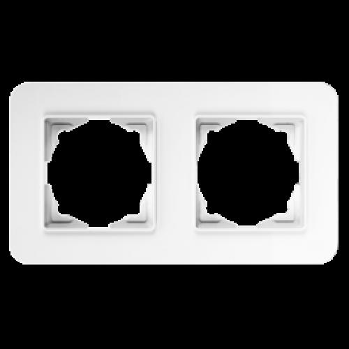 Рамка*2 белая 01379300-000141      ()