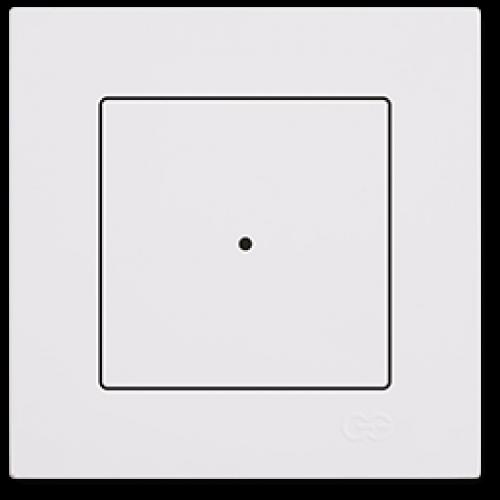 Выключатель 1-клавишный белый Gunsan Eqona (сенсоры) (01709300-150101)
