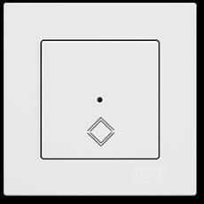 Выключатель 1 клавишный перекрестный (сенсор) (01709300-150394)