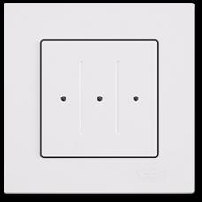 Выключатель 3-кл сенсорный (без рамки) белый