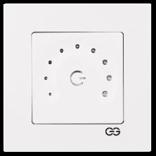 Светорегулятор полумесяц сенсорный (без рамки) белый