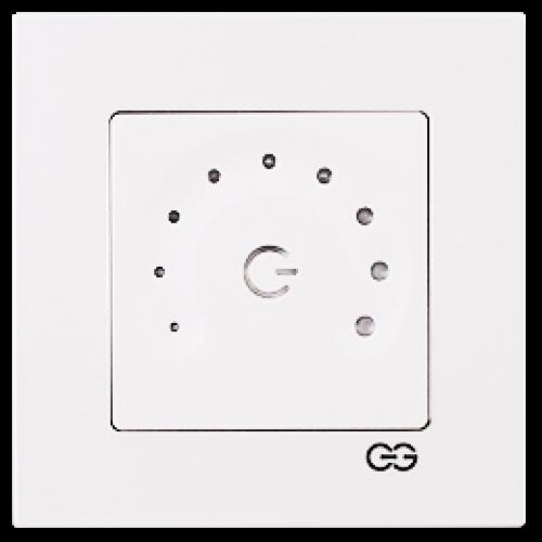 Светорегулятор полумесяц белый Gunsan Eqona (сенсоры) (01709300-160395)