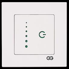 Светорегулятор сенсорный (без рамки) белый
