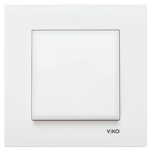 Выключатель 1-кл (без рамки) белый Viko Karre (90963601)