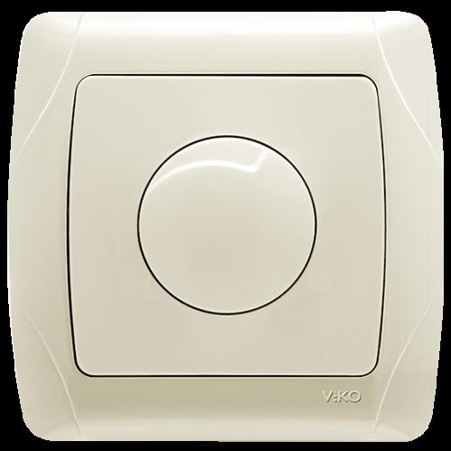 Выключатель-диммер кремовый  Viko Carmen (90562020)