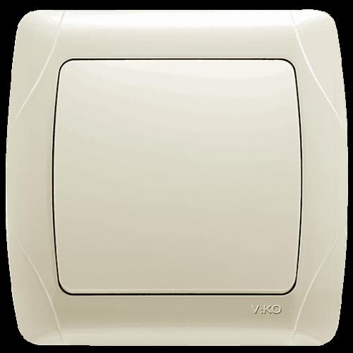 Выключатель 1-кл (в сборе) кремовый Viko Carmen (90562001)