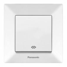 Выключатель 1-кл перекрестный (в сборе) белый