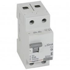 УЗО электромеханическое 2P 63A 10kA 30mA тип AC