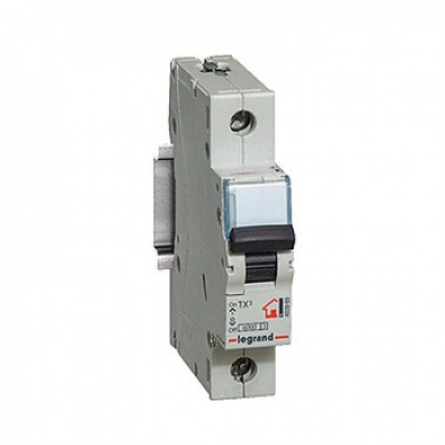 Автоматический выключатель 1P 6A хар-ка C 6kA  Legrand ТХ3 (404025)