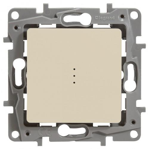 Выключатель 1-клавишный c индикацией сл.кость Legrand Etika (672303)