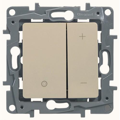 Светорегулятор 400Вт слоновая кость Legrand Etika (672318)