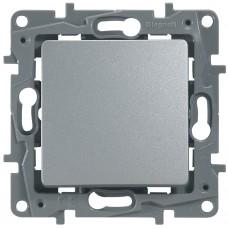 Выключатель 1-кл алюминий