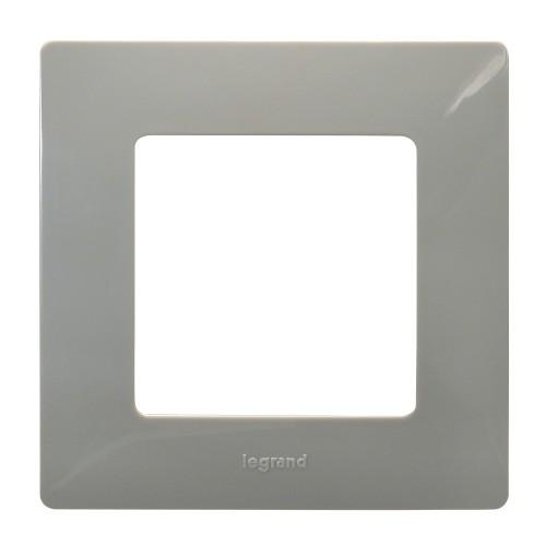 Рамка 1пост светлая галька Legrand Etika (672521)