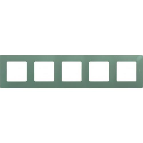 Рамка 5 постов светлая галька Legrand Etika (672525)