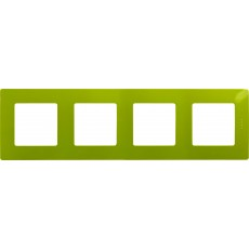 Рамка 4 поста зеленый папоротник