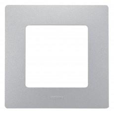 Рамка 1 пост алюминий