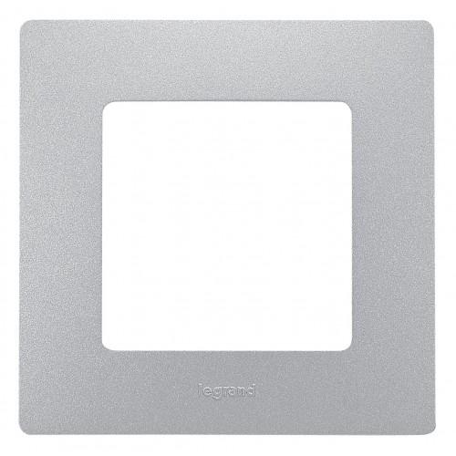 Рамка 1пост аллюминий Legrand Etika (672551)