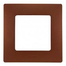 Рамка 1пост цвет какао