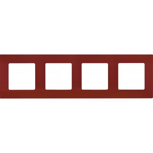 Рамка 4поста цвет какао Legrand Etika (672574)