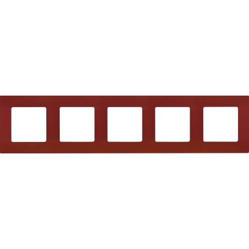 Рамка 5постов какао Legrand Etika (672575)