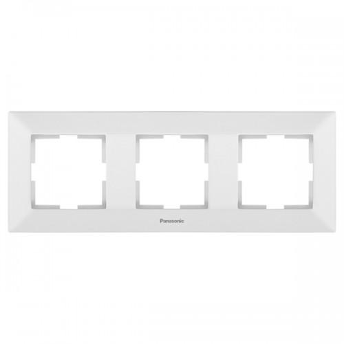 Рамка*3 универсальная белая Panasonic Arkedia (WMTF08032WH-BY)