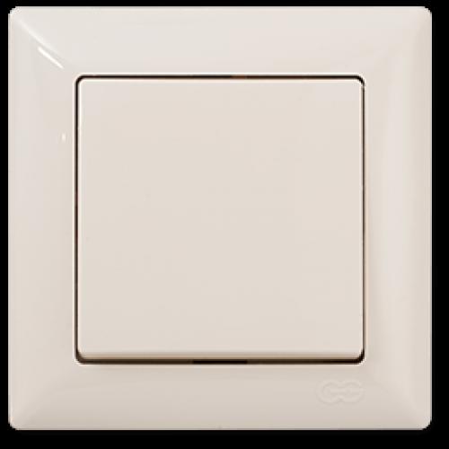 Выключатель 1-кл (без рамки) кремовый Gunsan Visage (01 28 12 00 150 101)