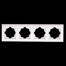 Рамка*4 белая