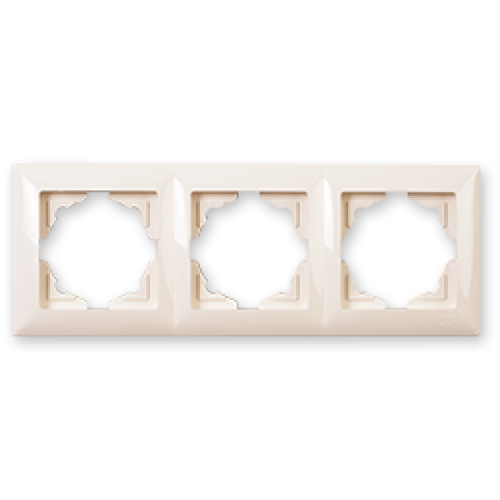 Рамка*3 кремовая Gunsan Visage (01 28 12 00 000 143)
