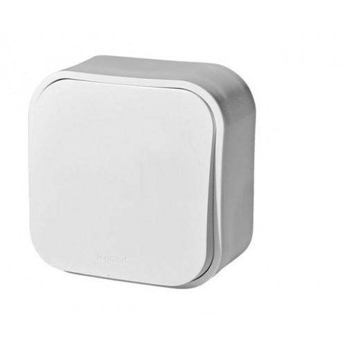 Выключатель 1-кл белый наружный Legrand Quteo (782200)
