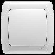 Выключатель 1-кл белый