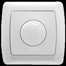 Выключатель-диммер белый