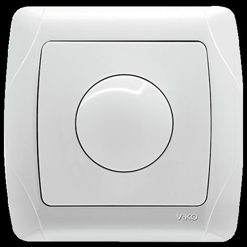 Выключатель-диммер белый  Viko Carmen (90561020)