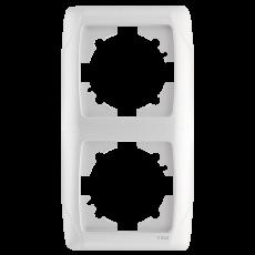 Рамка*2 вертикальная белая