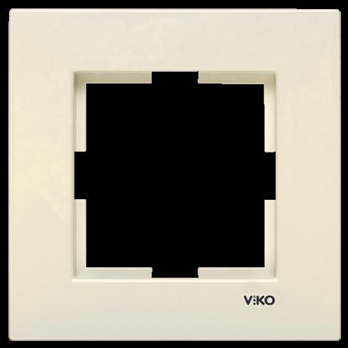 Рамка*1 кремовая Viko Karre (90960210)