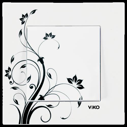 "Выключатель 1-кл. ""Цветок"" Viko Karre Style (90960912)"