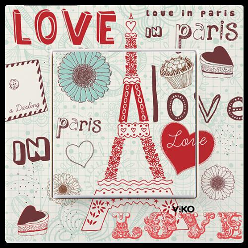 "Выключатель 1-кл. ""Париж"" Viko Karre Style (90962807)"