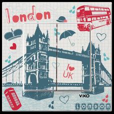 """Выключатель 2-кл. """"Лондон"""""""