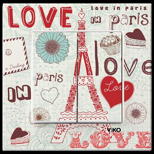 "Выключатель 2-кл. ""Париж"" Viko Karre Style (90962851)"