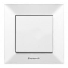 Выключатель 1-кл (в сборе) белый
