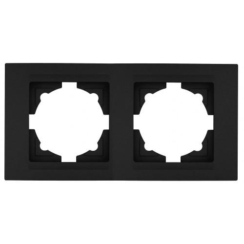 Рамка*2 черный 01 29 15 00 000 141  01 29 15 00 000 141 ()