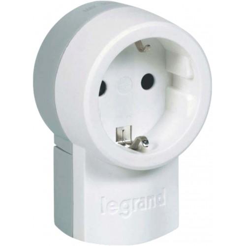 Штепсельная розетка 2К+З белая Legrand     (050199)
