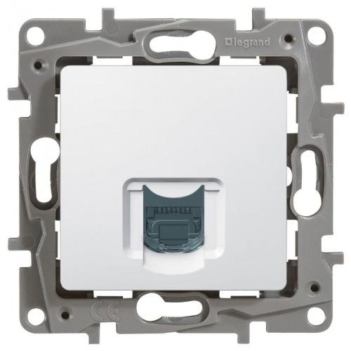 Розетка компьютерная белая Legrand Etika (672241)