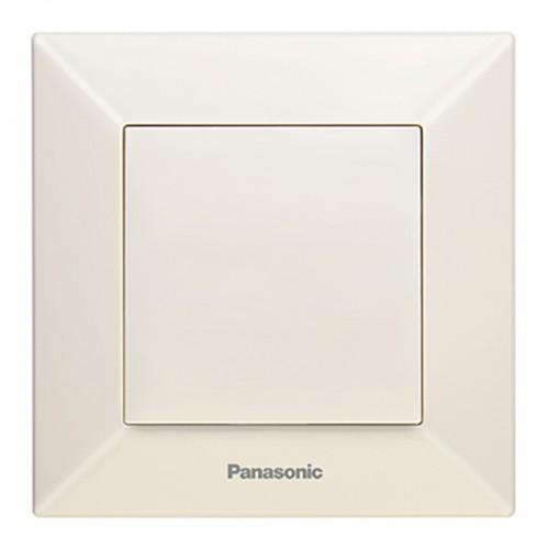 Выключатель 1-кл кремовый  Panasonic Arkedia (WMTC00012BG-BY)