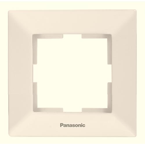 Рамка*1 кремовая Panasonic Arkedia  (WMTF08012BG-BY)