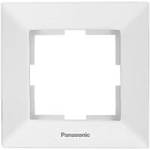 Рамка*1 белая Panasonic Arkedia  (WMTF08012WH-BY)