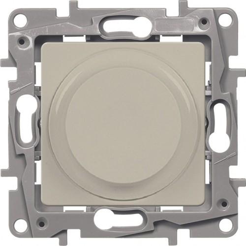 Светорегулятор универсальный 300Вт без нейтрали слоновая кость Legrand Etika (672319)