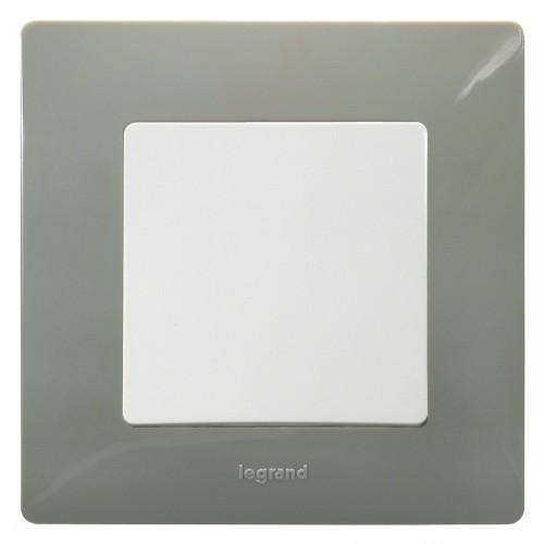 Рамка 1 пост светлая галька Legrand Etika (672521)