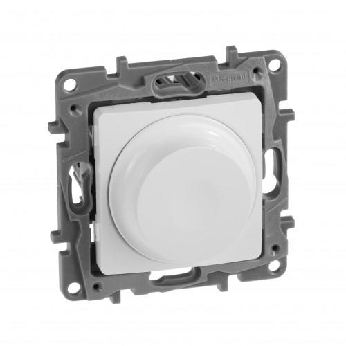 Светорегулятор универсальный 300Вт без нейтрали белый Legrand Etika (672219)